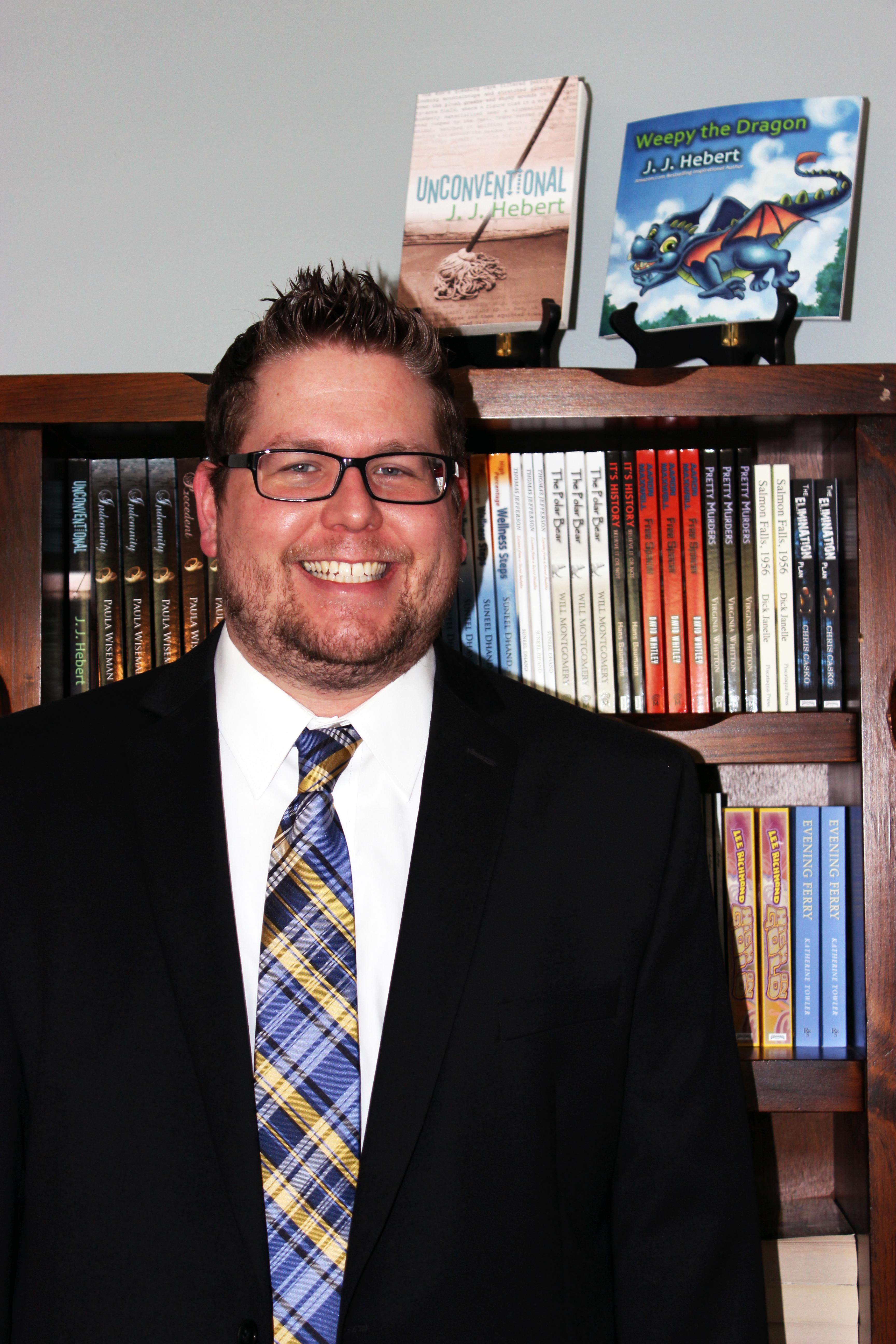 Author & MindStir Media president JJ Hebert